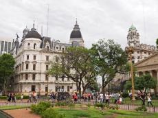 Plaza de Mayo, strona południowa